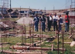 Construcción del Cuartel 5 - Año 1999